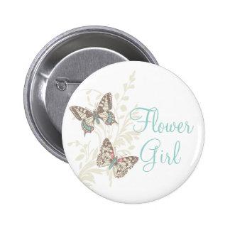 Pino/botão do casamento do florista de duas bóton redondo 5.08cm