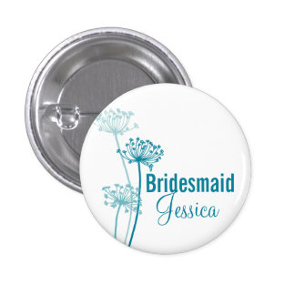 Pino/botão modernos do casamento da flor do bóton redondo 2.54cm