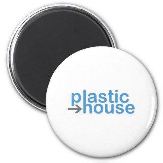 pino plástico do logotipo da casa imãs de geladeira