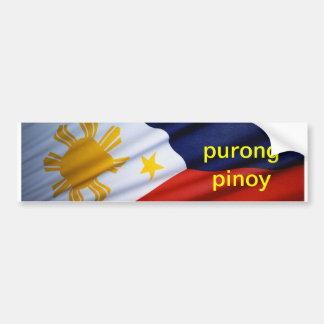**** pinoy do purong adesivo para carro