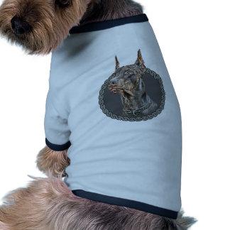 Pinscher 001 do Doberman Roupa Para Pets