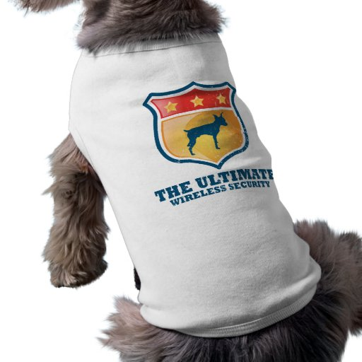 Pinscher diminuto camiseta para caes