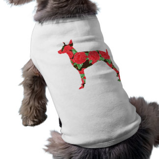 Pinscher do Doberman Camiseta Para Caes