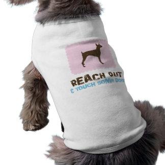 Pinscher do Doberman Camisetas Para Cães