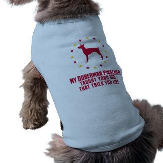 Pinscher do Doberman Roupa Para Pet