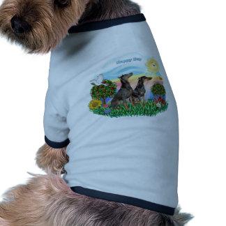 Pinschers do Doberman dois Camisetas Para Caes