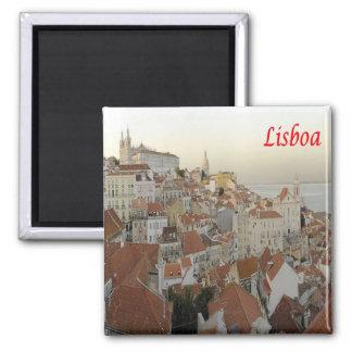 Pinta - Portugal - Lisboa - Panoram Ímã Quadrado