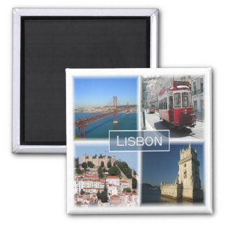 Pinta * Portugal - Lisboa Portugal Ímã Quadrado