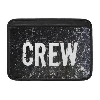 Pinte o carvão vegetal e o branco do GRUPO | do Bolsa De MacBook Air