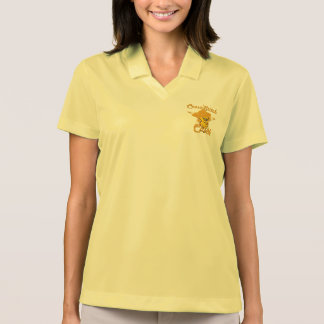 Pintinho #10 do ponto de cruz t-shirt polo