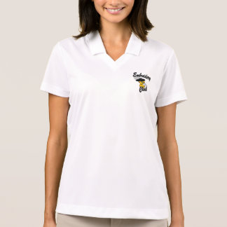 Pintinho #4 do bordado t-shirt polo