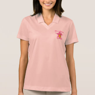 Pintinho #8 do ponto de cruz t-shirt polo