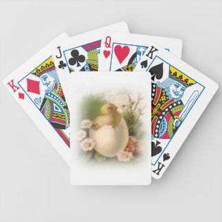 Pintinho novo da páscoa baralho para pôquer