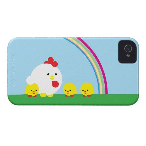 Pintinhos de n do pintinho ' capa iPhone 4 Case-Mate