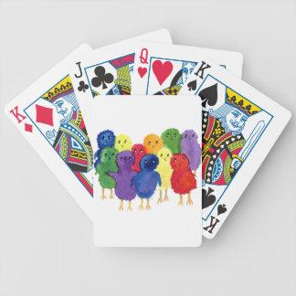 Pintinhos do bebê baralho para pôquer