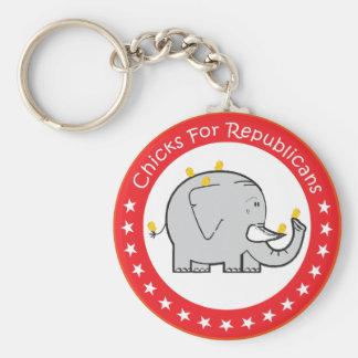 pintinhos para republicanos chaveiro