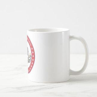 pintinhos republicanos caneca de café