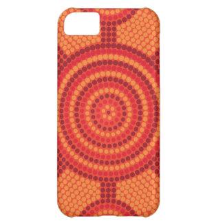 Pintura aborígene do ponto capa para iPhone 5C