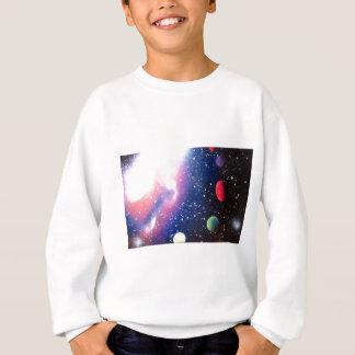 Pintura da galáxia do espaço da arte da pintura agasalho