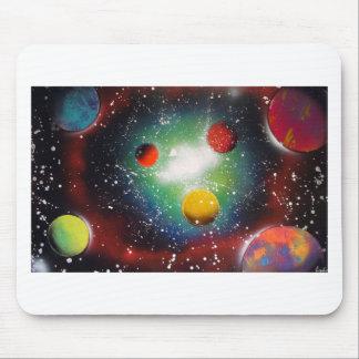 Pintura da galáxia do espaço da arte da pintura mousepad