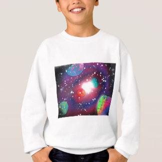Pintura da galáxia do espaço da arte da pintura t-shirts