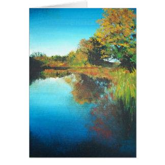 Pintura da queda de cartões desonestos do rio