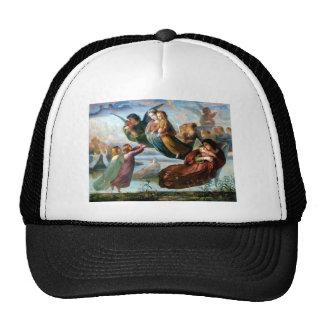 Pintura da religião da cristandade dos anjos boné