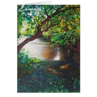Pintura desonesto do rio, Rockford, cartões do MI