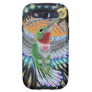 "Pintura do colibri de Beija Flor (da ""Kisser Capa Personalizadas Samsung Galaxy S3"