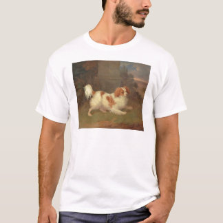Pintura do Spaniel de rei Charles de Calvalier do Tshirts