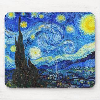 Pintura legal de Vincent van Gogh da noite Mouse Pad