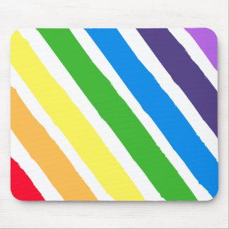 Pintura Mousepad do arco-íris
