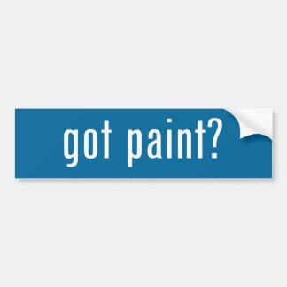 pintura obtida? adesivo