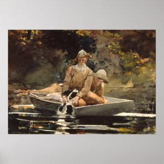 Pintura Pesca-Histórica da arte Posteres