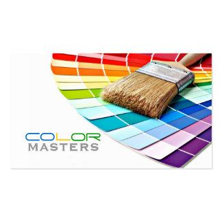 Cartão de visita Pintor. Modelos de cartões de visita para pintores.