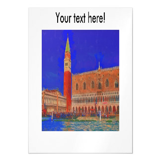 Pintura quadrada do Piazzetta de St Mark