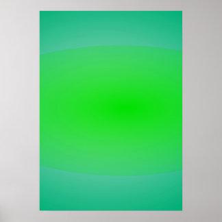 Pintura verde do abstrato do verde
