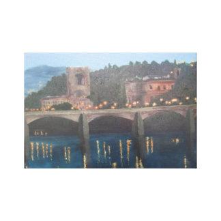 Pinturas de Ponte Vecchio Italia Florença das bela Impressão Em Tela