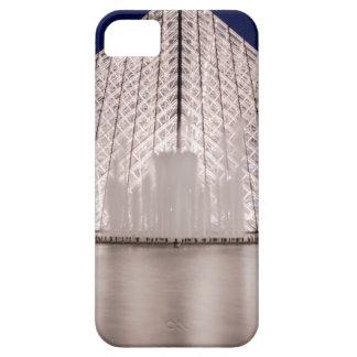 pirâmide france Paris da grelha na noite Capas De iPhone 5 Case-Mate