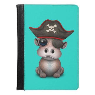 Pirata bonito do hipopótamo do bebê
