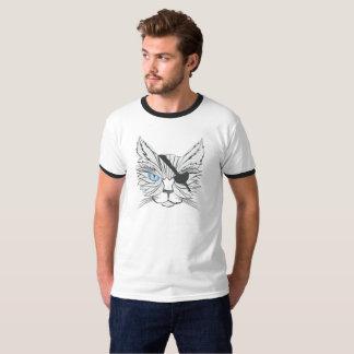 Pirata Cat#1 do desenho T-shirt