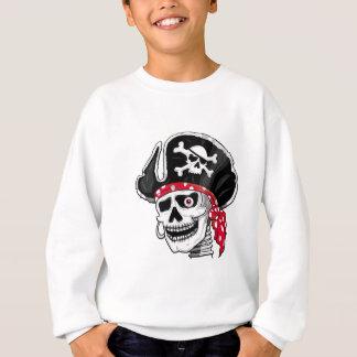 Pirata de esqueleto t-shirts