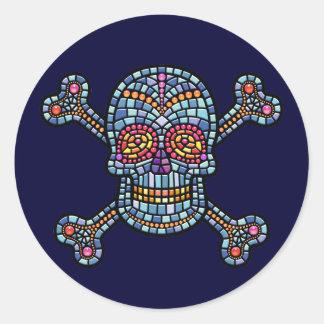 Pirata do azulejo de mosaico adesivo