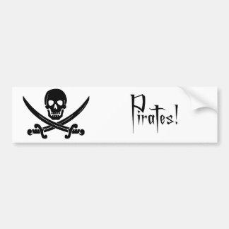 Piratas Adesivo Para Carro