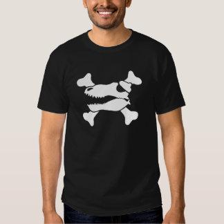 Piratas do dinossauro t-shirt