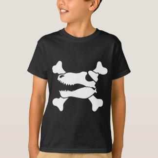 Piratas do dinossauro t-shirts