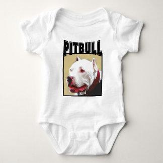 Pitbull branco tshirts