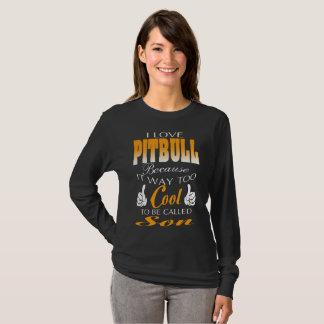 pitbull do amor camiseta