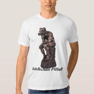Pitbull intelectual t-shirts