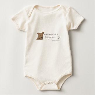pitbull macacãozinho para bebê